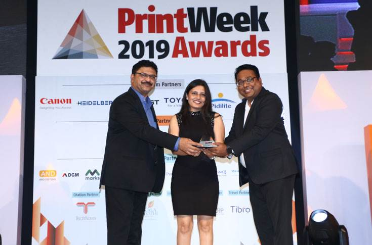 Delhi's Kumar Labels is the Label Printer of the Year (Joint winner)