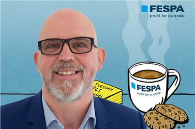 Graeme Richardson-Locke, technical support manager, Fespa