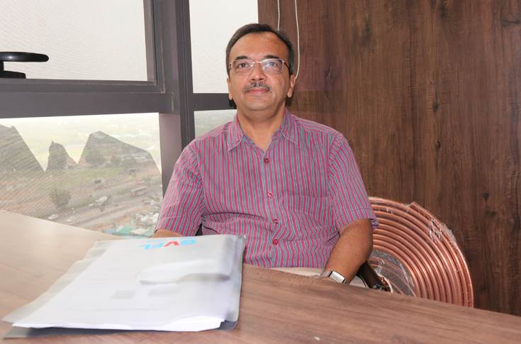 Mayur Shah of Printec, an industry veteran who manages Meiji range of blankets in Ahmedabad