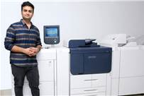 Rishabh Behal of Capital Graphics with the new kit