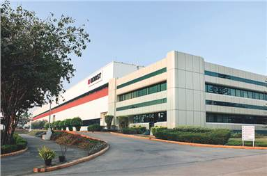 The Bobst India building in Pune