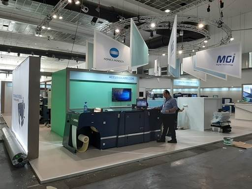 Konica Minolta gave first glimpse of its newly launched AccurioLabel 230