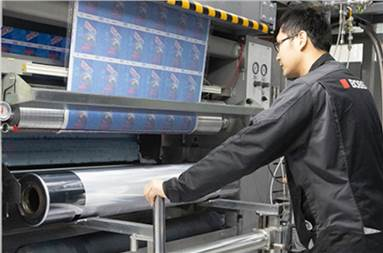 The Bobst Nova RS 5003 gravure press is easy to operate and fast to makeready and changeover