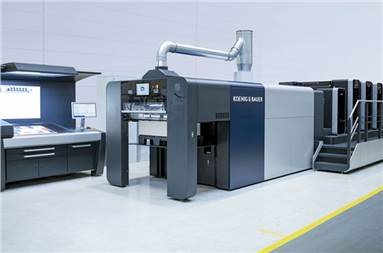 The press was designed on the basis of the Rapida 106 and Rapida 106 X series
