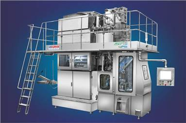 The Asepto Flexpress 10000 filling machine