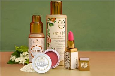 Apcos owns Just Herbs - a line of skin and hair care products