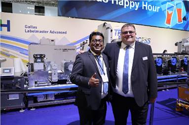 Naier (r) and Patkar: The Gallus Advanced has new features