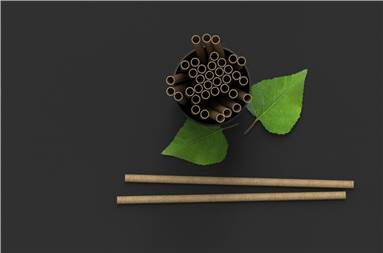 Like all Sulapac materials, the straw is 100% microplastic-free