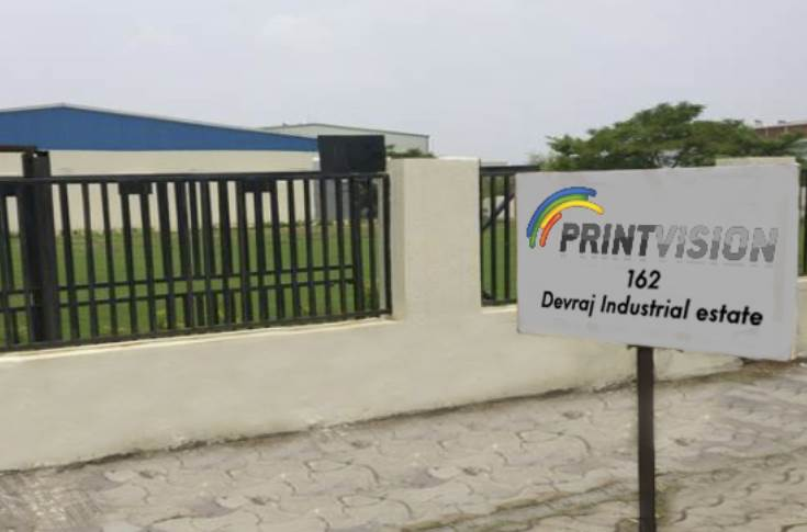 Print Vision's new plant in Piplaj, Ahmedabad