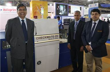 Ashok (l): 40 Checkmate 50 print inspection systems are installed in India and away