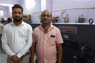 Parbhat has installed the Autoprint to complete its finishing segment