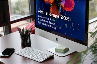 Virtual.Drupa: More than 2,700 minutes knowhow in the conference area