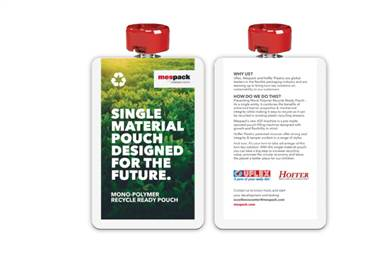 The three titans have jointly developed a turnkey solution to address the issue of full recyclability of pouches