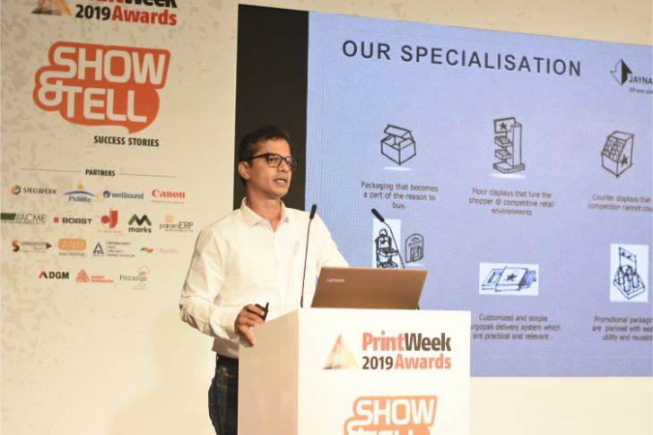 Ashish Purav of Janya Packaging shares the company recent works retail displays and promotional packaging