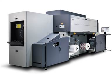 Tau 330 RSC E - UV inkjet single-pass presses is available in with 330mm and 244mm print widths