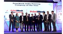 Team Parksons Packaging at PrintWeek India Awards 2016
