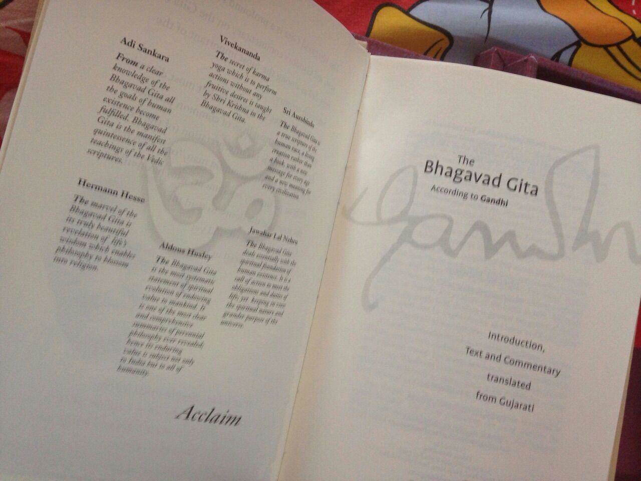 Avantika-printed Bhagwad Gita presented to President Obama
