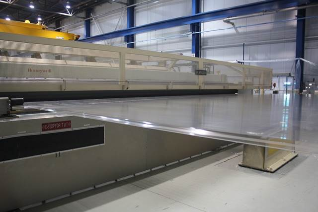The US plant houses an 8.7 metre BOPET film line that runs at 500 metres per minute
