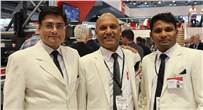 Team Nilpeter: (l-r) Manish Kapoor, Alan Barretto and Sathish Khanna K