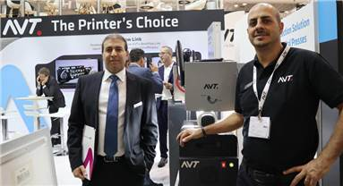 """Barazani: """"The Jet-IQ gives the digital printers the advantage of enhanced print quality at high speeds, reduced press down time, and full reporting capabilities"""""""