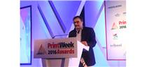 Ramu Ramanathan at the PrintWeek India Awards 2016