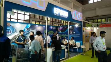 At Gartex, Epson has displayed the F2000 for DTG, P9000 for textile proofing and T5270 for textile screen separation