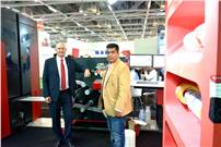 Bent Serritslev, managing director for Xeikon in the Asia Pacific Region with Sanjeev Sondhi, managing director, Zircon