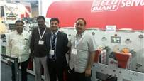 B Murali of Team Labels with Multitec representatives