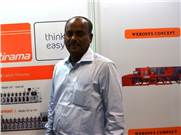 V Rajapandian of Sree Labeltech at Labelexpo India 2006