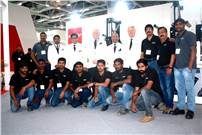 The Nilpeter team at Labelexpo India 2016