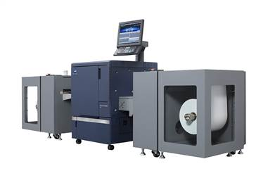 The press has been especially designed for narrow-web applications