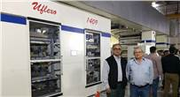 Ajay Tandon of Uflex (l) with the new Uflexo