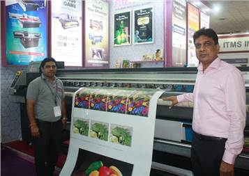(r) According to TP Jain, managing director, Monotech Systems, the company's focus now is four-colour roll-to-roll printing with white ink printing option