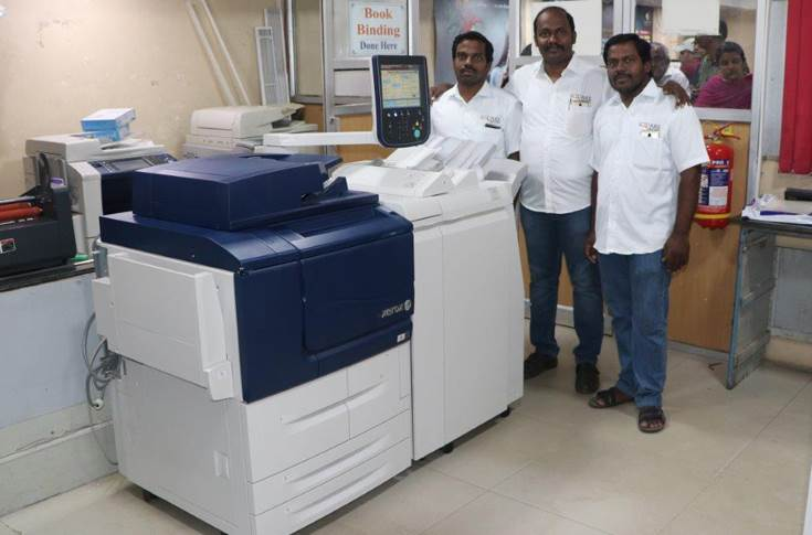 Square Brothers equip their printshops with three Xerox