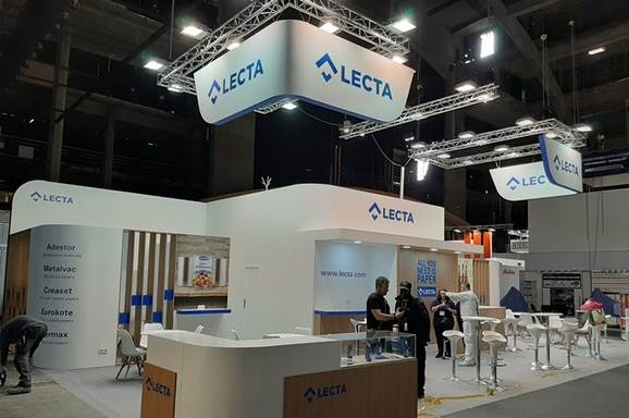 Lecta added another dimension to its specialty papers for adhesive products