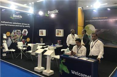 The Bostik stall at PackPlus 2019