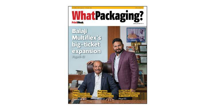 To read Balaji Multiflex's growth story and its vision for the future, get the latest edition of WhatPackaging? magazine. Write to ganesh@haymarketsac.com