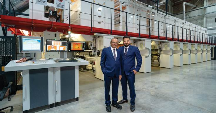 The company has spent Rs 120-crore to set up a greenfield project. The cornerstone of the factory is the India's first W&H Heliostar II gravure press