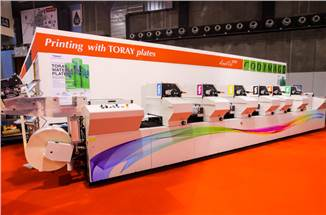 Labelexpo 2019: Toray and Codimag to highlight  waterless offset printing