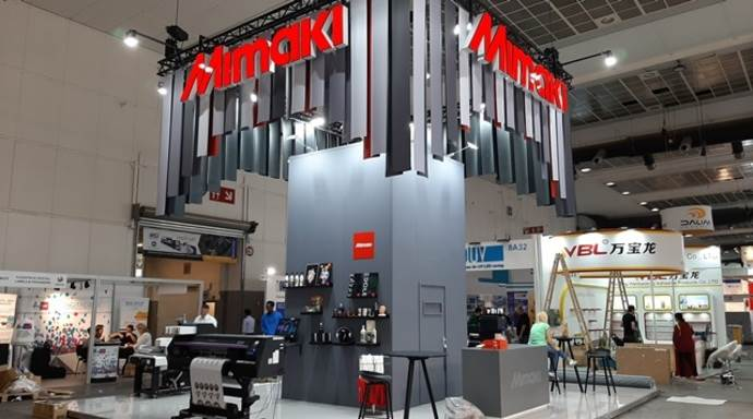 Mimaki, under the theme 'Reimagine the future of labelling and packaging', is focusing on sustainability