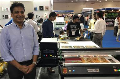 T P Jain, managing director of Monotech Systems