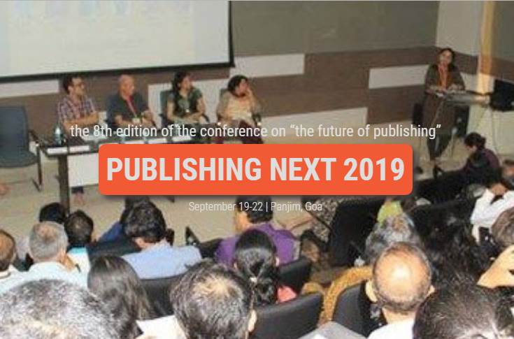 Publishing Next 2019 to be held on 19-22 September