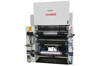 Made in India: Daya automatic dry lamination machine model Turbo