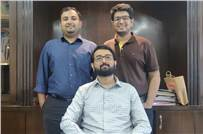 (l-r) Purusharth, Vivek, and Konark Badjatya, who are at the helm of Orient Pack-N-Print