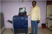 Dr Sarat Chandra Sahoo, MD, Om Oil and Flour Mills with the AccurioPress C3070P