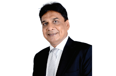TP Jain, owner of Monotech System