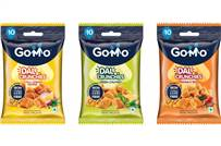 GoMo Dal Crunchies will be available in three flavours — chilli lemon pepper, green chutney and masala mix