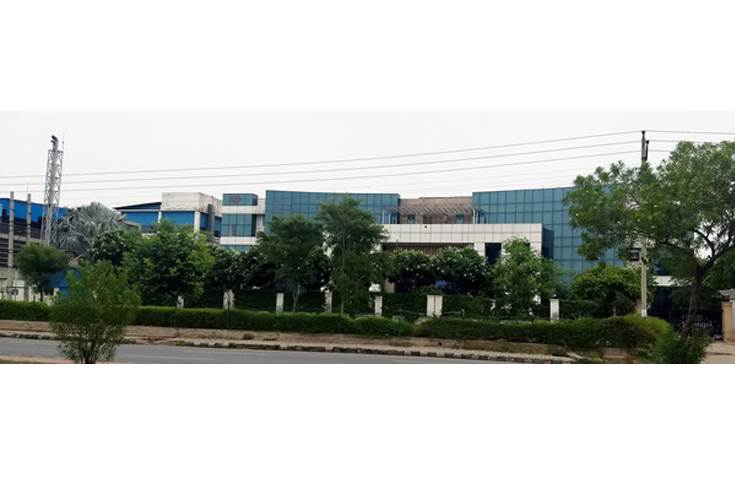 The exteriors of the Archies plant in Manesar, Haryana