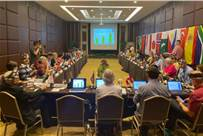 Judging session held in Bali, during the second WPO board meeting of 2019