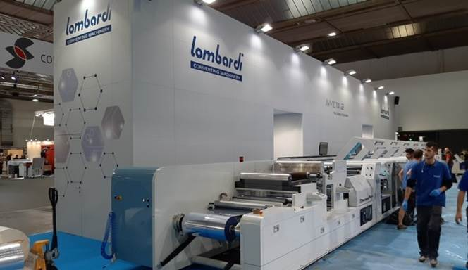 Lombardi premiers its brand new line created for flexible packaging in the mid-web sector